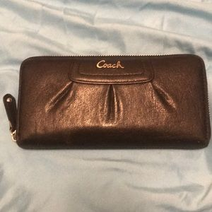 Leather Black Coach Wallet